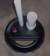 radon mitigation sump cover