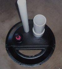 radon mitigation sump cover