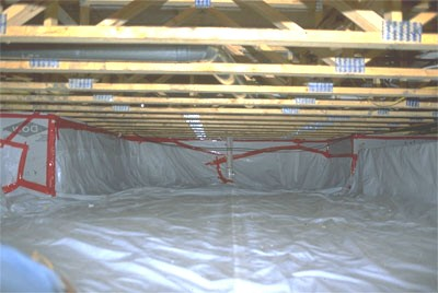 Mold prevention home owners guide for Crawl space plumbing