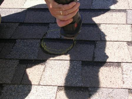 Radon Roof Pipe Flashing