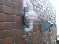radon fan guard
