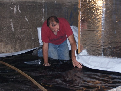 radon crawl space