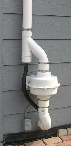 Radon Mitigation System Photos