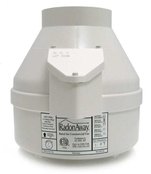xp151 radon fan