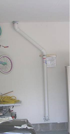 radon vent garage